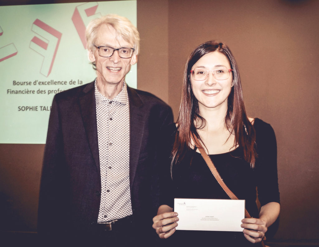 Professionals' Financial Scholarship 2016 - Université de Montréal - School of Architecture, Faculty of Urban Planning