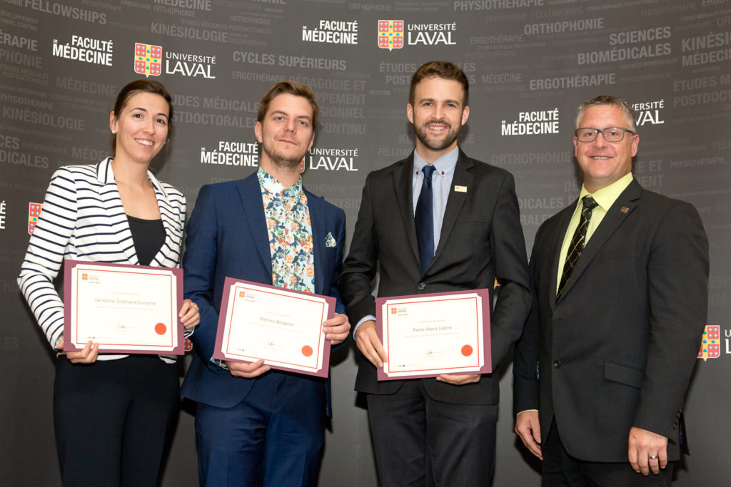 Professionals' Financial Scholarships 2016 - Université Laval - Faculty of Medicine