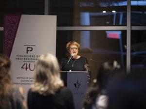Photo - Événement L'argent et le pouvoir quand les femmes s'investissent - Conférencière Rose-Marie Charest